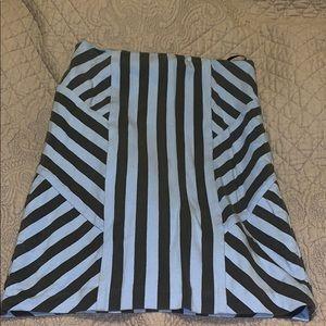 Mini zebra print skirt
